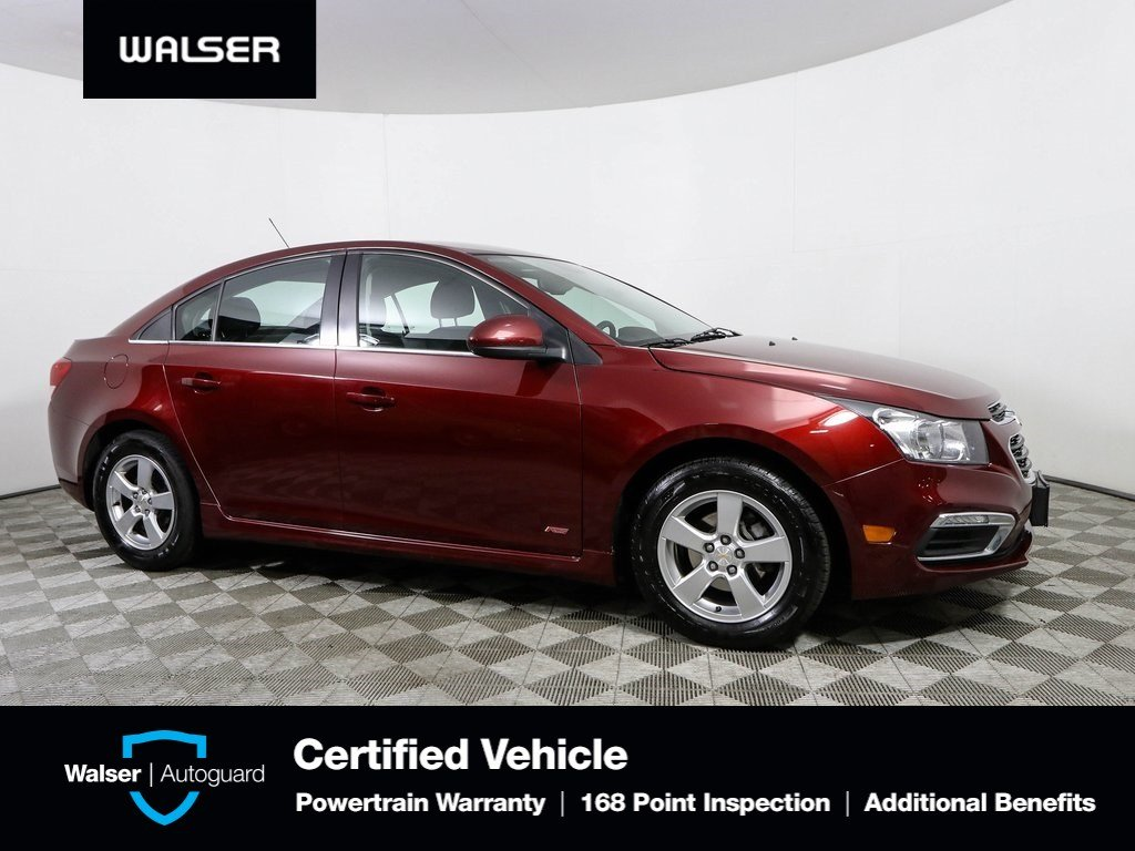 Pre-Owned 2015 Chevrolet Cruze 1LT TECHNOLOGY CONVENIENCE RS SPORT PACKAGES