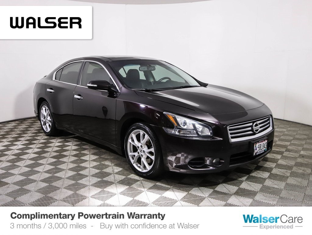 Pre-Owned 2014 Nissan Maxima SV PREMIUM TECHNOLOGY PANO ROOF HEATED COOLED LEATHER BOSE