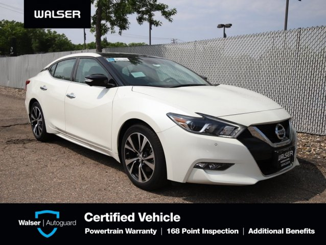 Pre-Owned 2018 Nissan Maxima PLATINUM HEATED COOLED LEATHER NAV BOSE ROOF CAM