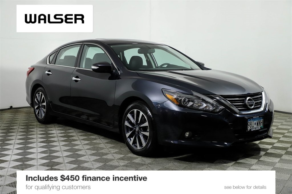 Certified Pre-Owned 2017 Nissan Altima SL TECHNOLOGY & ROOF