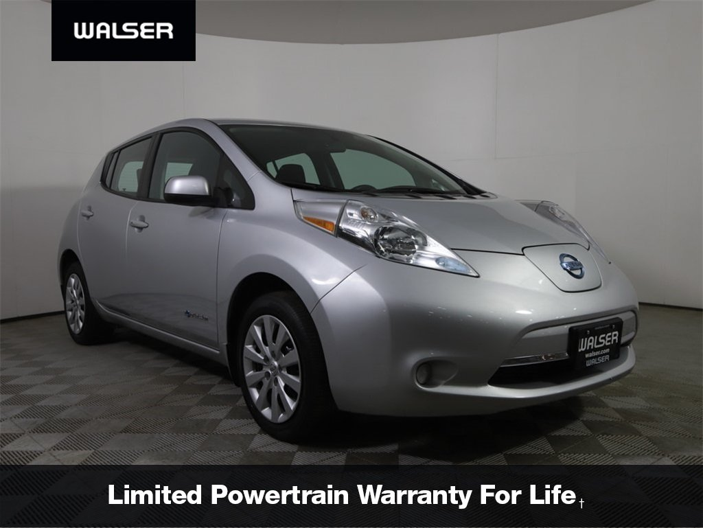 Certified Pre-Owned 2016 Nissan LEAF *CERTIFIED* S QUICK CHARGE CAMERA HEATED SEATS