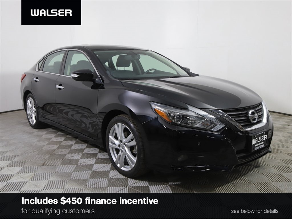 Certified Pre-Owned 2016 Nissan Altima *CERTIFIED* 3.5 SL TECHNOLOGY HTD LTHR ROOF NAV