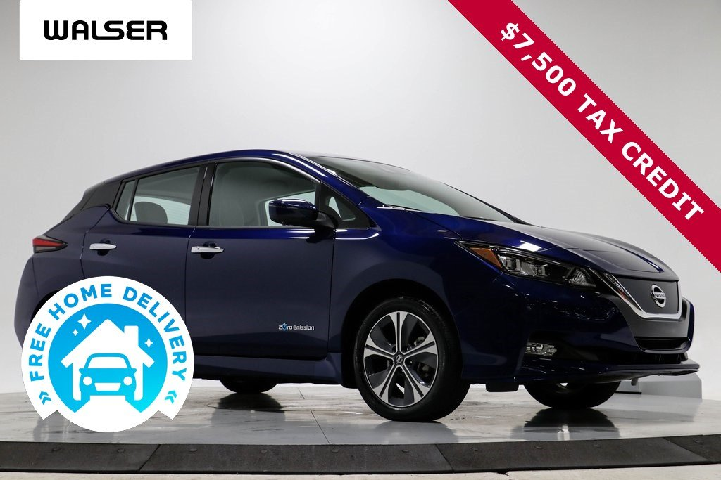 Pre-Owned 2019 Nissan LEAF SL PLUS $7,500 TAX CREDIT