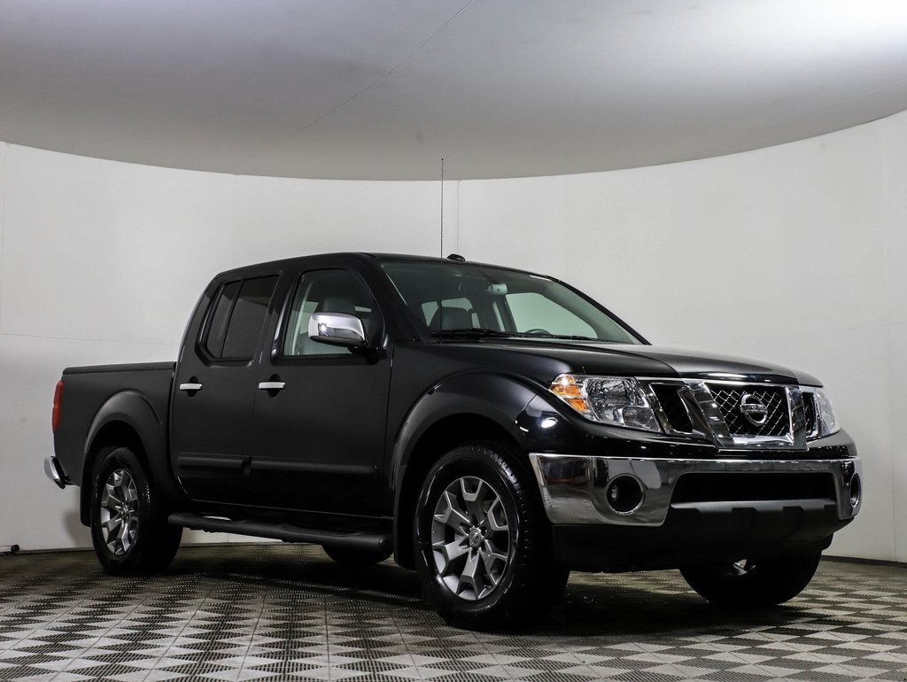 Certified Pre-Owned 2019 Nissan Frontier SL 4X4 HEATED LEATHER MOONROOF NAV CAMERA BLUETOOTH