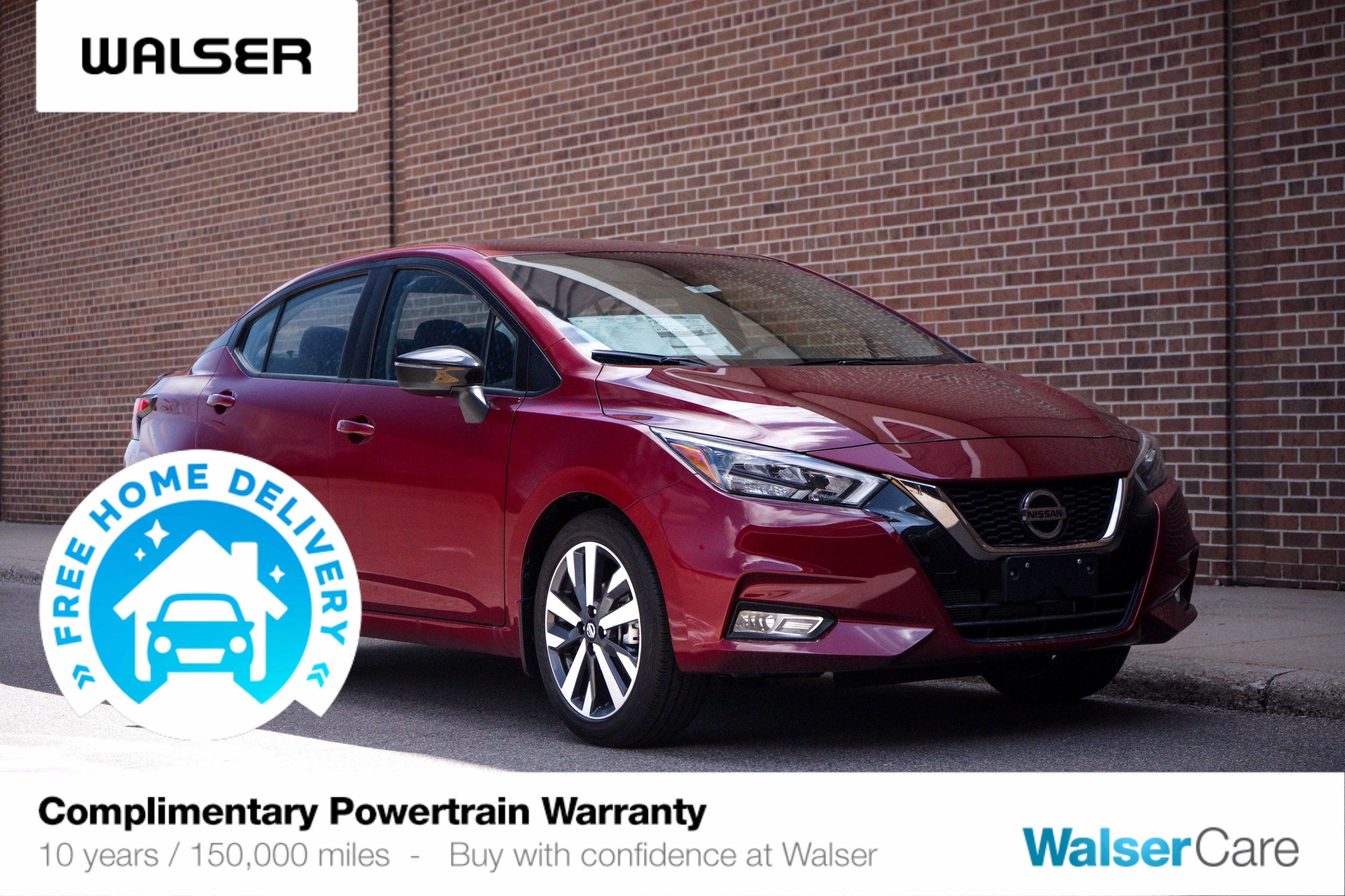 New 2020 Nissan Versa SR CONVENIENCE PKG
