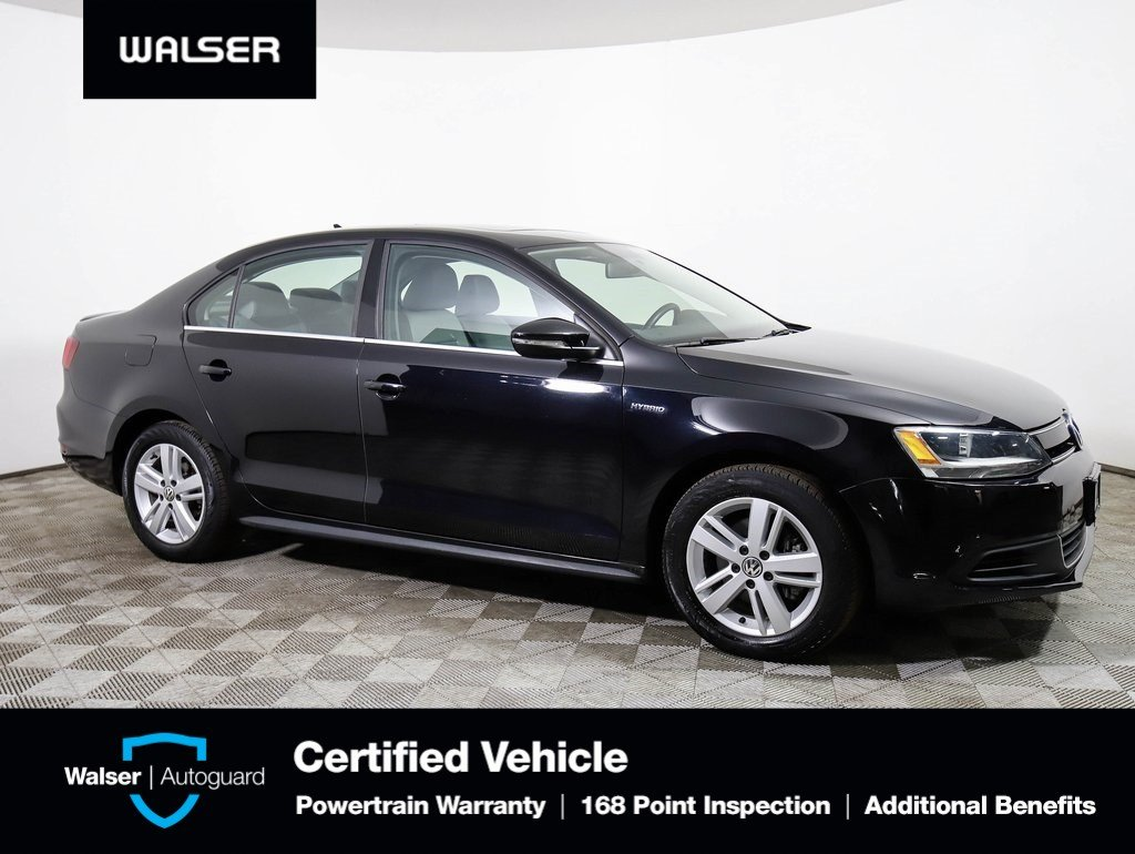 Pre-Owned 2013 Volkswagen Jetta Sedan SEL *HYBRID* HEATED LEATHER MOONROOF *LOW MILES*