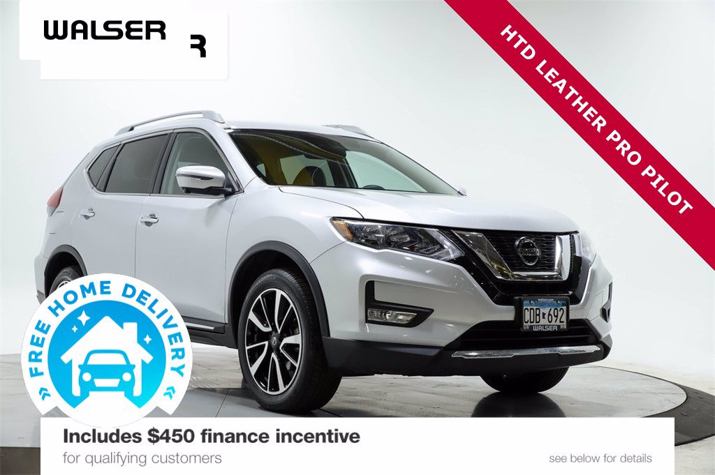 Certified Pre-Owned 2019 NISSAN ROGUE SL AWD