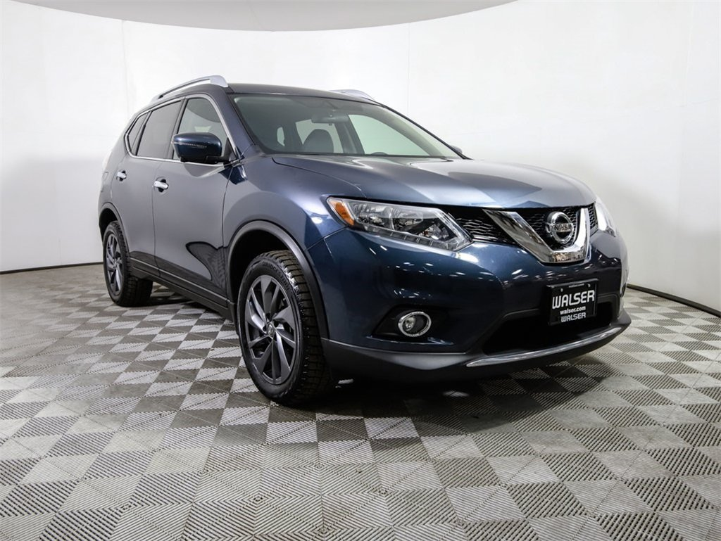 Certified Pre-Owned 2016 Nissan Rogue *CERTIFIED* SL AWD HEATED LEATHER BOSE NAV CAMERA