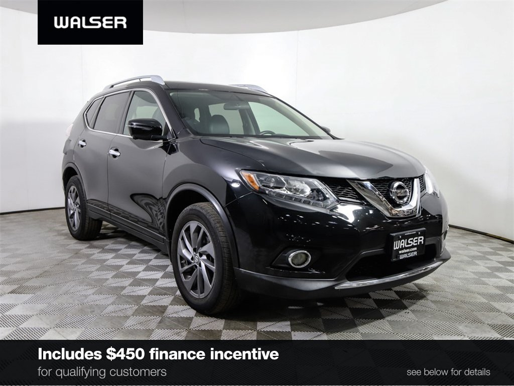 Certified Pre-Owned 2016 Nissan Rogue CERTIFIED SL AWD PREMIUM PANO MOONROOF NAV LEATHER