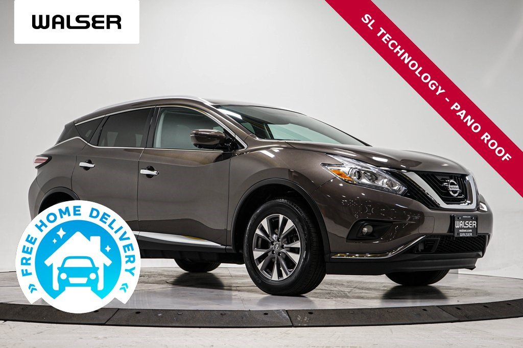 Certified Pre-Owned 2016 Nissan Murano SL TECHNOLOGY PKG