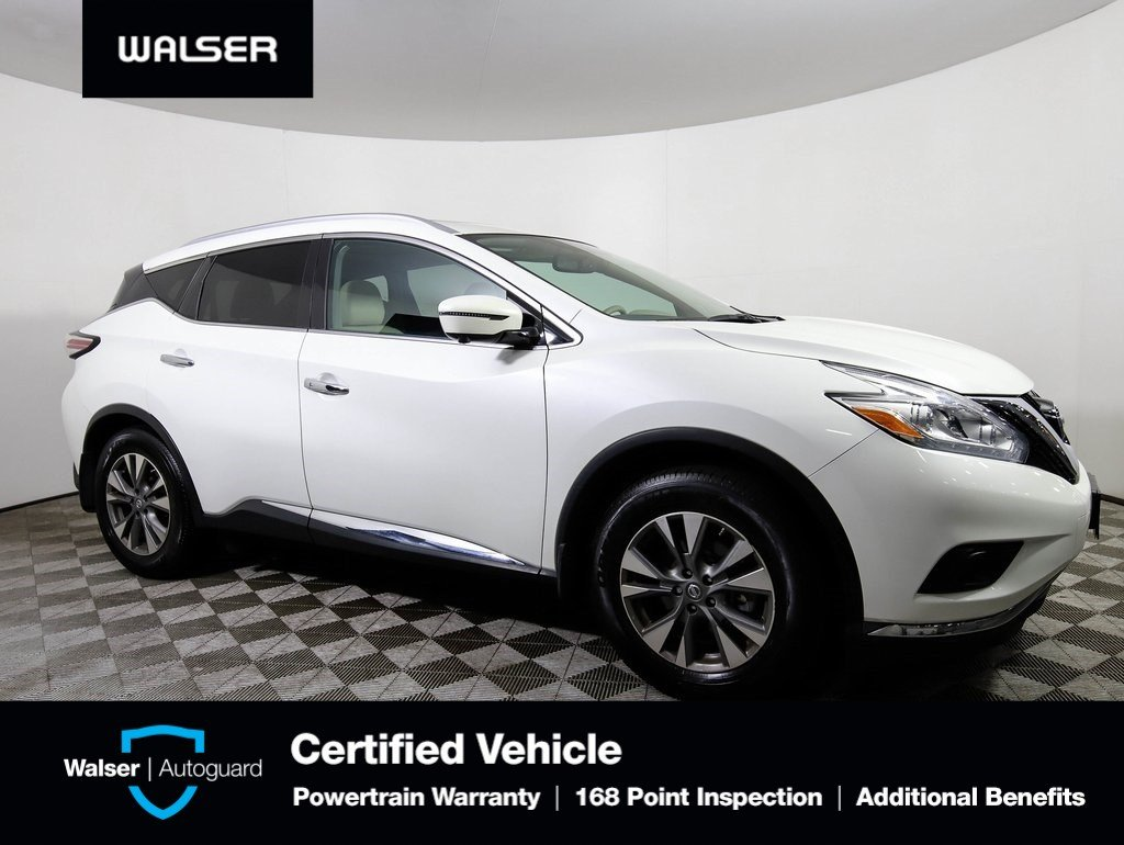Certified Pre-Owned 2016 Nissan Murano SL AWD TECHNOLOGY PKG ROOF BOSE NAV *CERTIFIED*