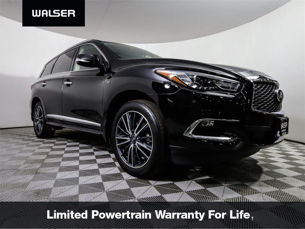 Pre-Owned 2018 INFINITI QX60 QX60 AWD PREMIUM PLUS PKG NAV MOONROOF 20 WHEELS