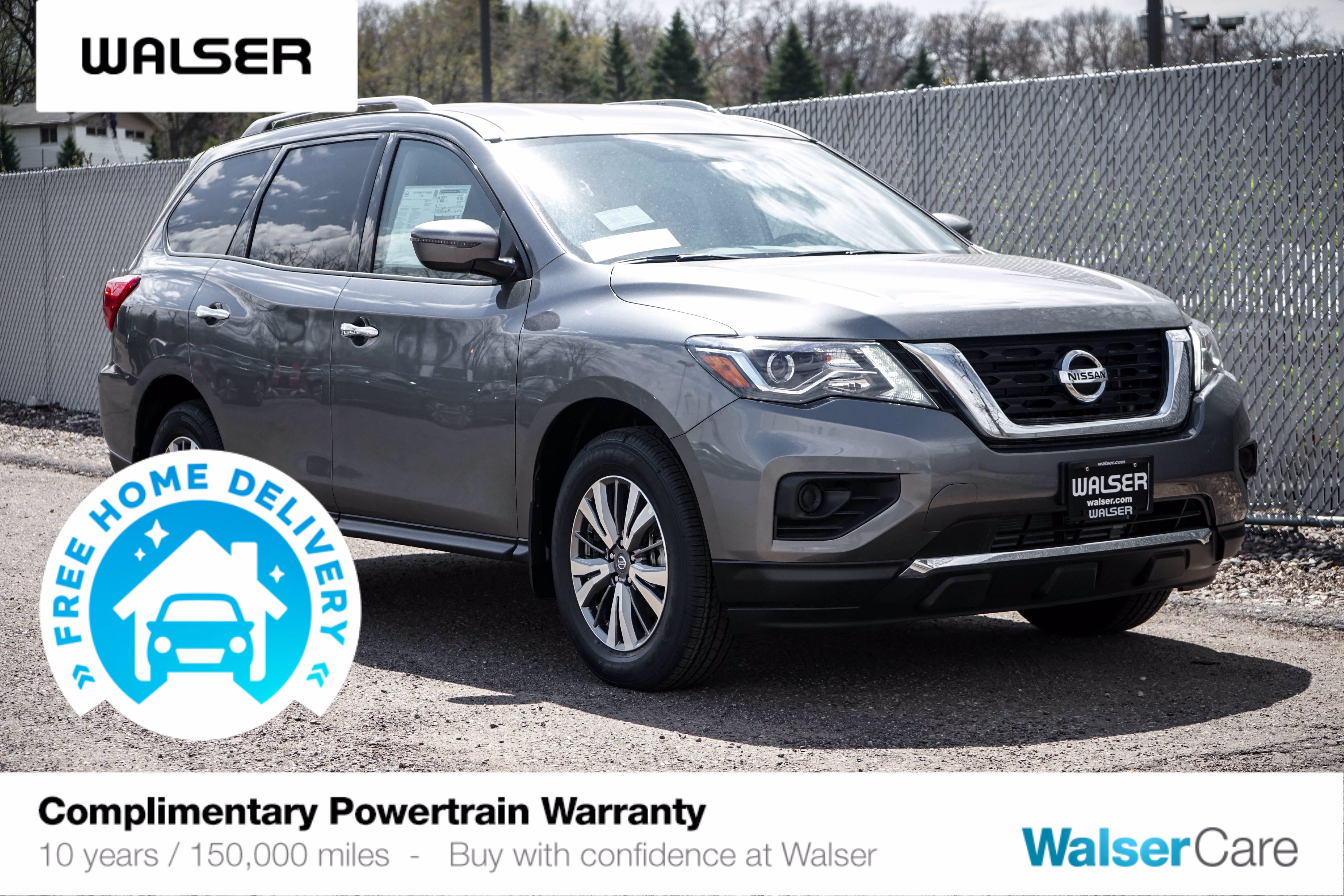 New 2020 Nissan Pathfinder S 4X4