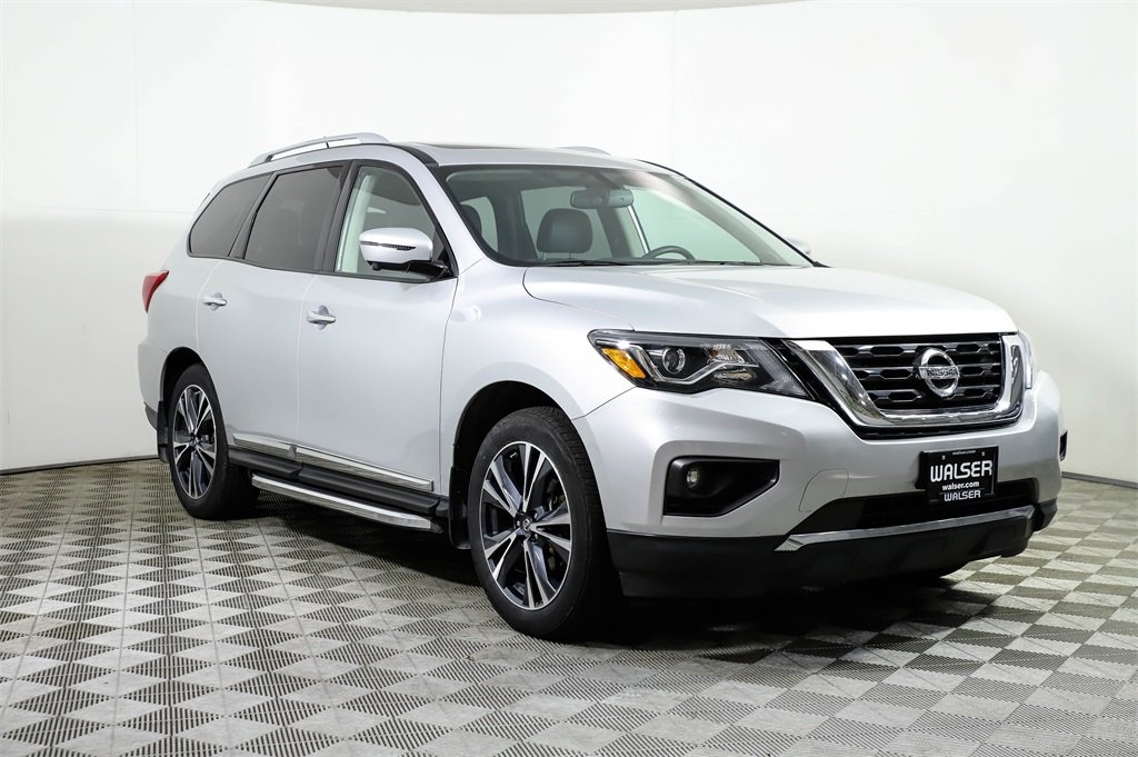 Certified Pre-Owned 2018 Nissan Pathfinder PLATINUM 4WD