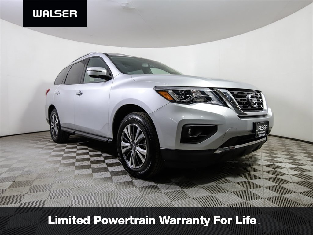 Certified Pre-Owned 2018 Nissan Pathfinder *CERTIFIED* SV 4WD 3RD ROW CAMERA *NEW BODY STYLE*