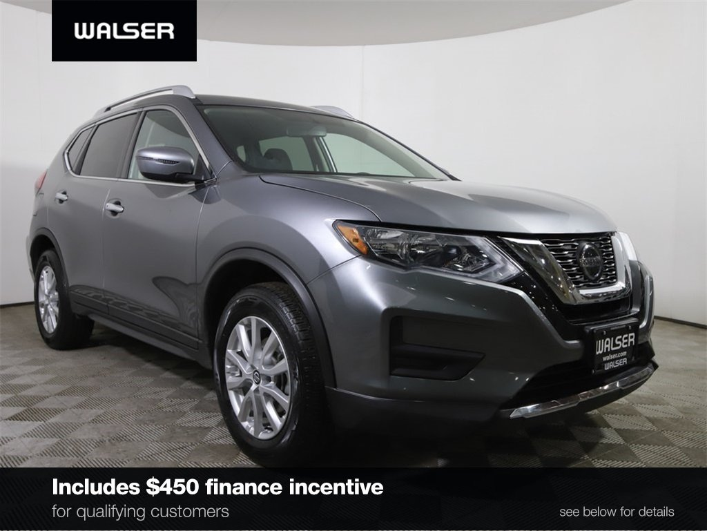Certified Pre-Owned 2018 Nissan Rogue *CERTIFIED* SV AWD APPLE CARPLAY HTD SEATS CAMERA
