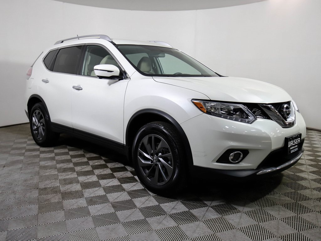 Certified Pre-Owned 2016 Nissan Rogue SL AWD HEATED LEATHER NAV BOSE CAMERAS *CERTIFIED*