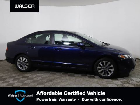 Pre-Owned 2010 Honda Civic Sdn EXL HEATED LEATHER POWER MOONROOF ALLOY