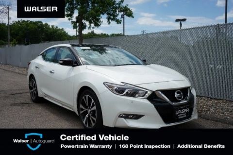 Pre-Owned 2018 Nissan Maxima 3.5 SL HEATED COOLED LEATHER NAV BOSE ROOF CAMERA