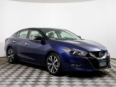 Certified Pre-Owned 2016 Nissan Maxima 3.5 SL PANO ROOF HEATED LEATHER BOSE NAV CAMERA