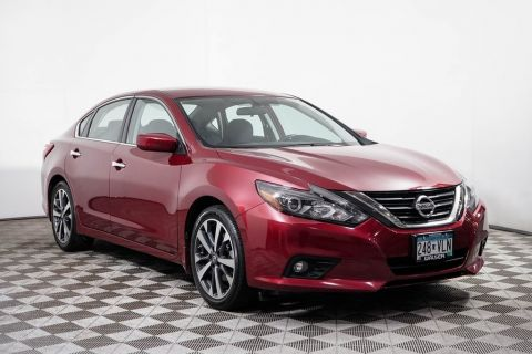 Certified Pre-Owned 2016 Nissan Altima SR LED LIGHTS SPOILER ALLOY CAMERA BLUETOOTH