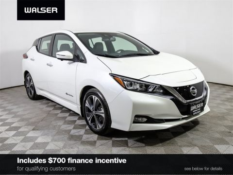 Certified Pre-Owned 2018 Nissan LEAF *CERTIFIED* SL TECHNOLOGY PROPILOT HTD LEATHER NAV