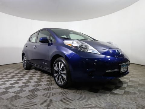 Certified Pre-Owned 2016 Nissan LEAF *CERTIFIED* SV QUICK CHARGE HEATED SEATS ALLOY NAV