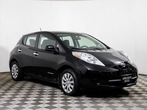 Certified Pre-Owned 2017 Nissan LEAF S QUICK CHARGING PKG BACKUP CAMERA BLUETOOTH