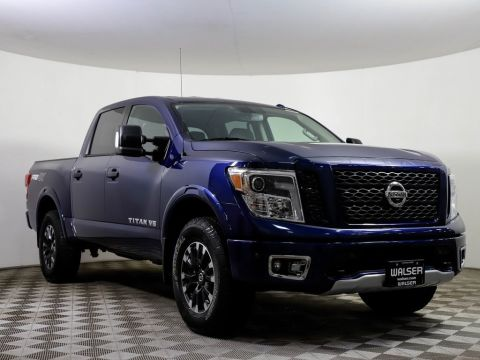 Certified Pre-Owned 2019 Nissan Titan PRO-4X LUXURY PKG NAV CAMERAS LEATHER ALLOY TOWING
