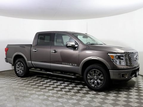 Certified Pre-Owned 2018 Nissan Titan PLATINUM RESERVE 4X4 NAV HTD LEATHER *CERTIFIED*