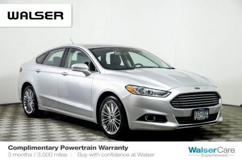 Pre-Owned 2014 Ford Fusion SE LOADED