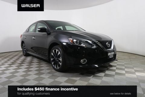 Certified Pre-Owned 2018 Nissan Sentra *CERTIFIED* SR TURBO MOONROOF CAMERA SPOILER ALLOY