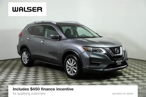Certified Pre-Owned 2017 Nissan Rogue SV PREMIUM & ROOF PKGS