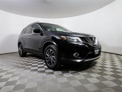 Certified Pre-Owned 2016 Nissan Rogue *CERTIFIED* SL AWD PREMIUM PANO ROOF NAV HTD LTHR