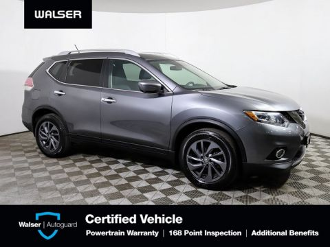 Pre-Owned 2016 Nissan Rogue SL AWD PREMIUM PKG NAV BOSE HTD LTHR *CERTIFIED*