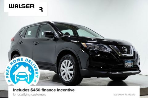 Certified Pre-Owned 2019 Nissan Rogue S AWD