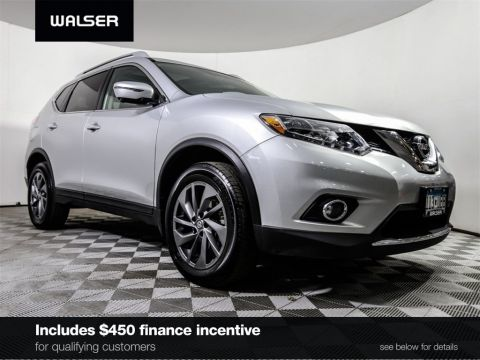 Certified Pre-Owned 2016 Nissan Rogue *CERTIFIED* SL AWD PREMIUM PANO ROOF HTD LEATHER