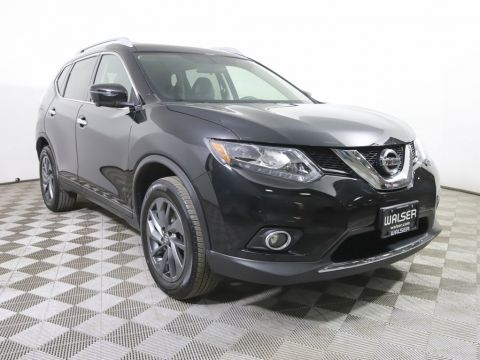 Certified Pre-Owned 2016 Nissan Rogue *CERTIFIED* SL AWD PREMIUM PANO ROOF NAV BOSE LTHR