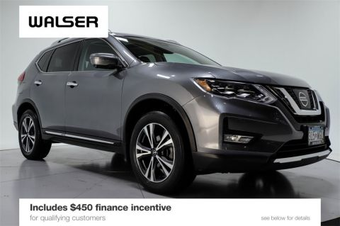 Certified Pre-Owned 2017 Nissan Rogue SL AWD PREMIUM PKG
