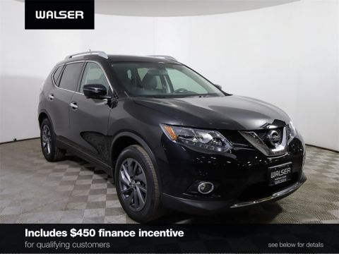 Certified Pre-Owned 2016 Nissan Rogue *CERTIFIED* SL AWD PREMIUM PKG PANO ROOF HTD LTHR