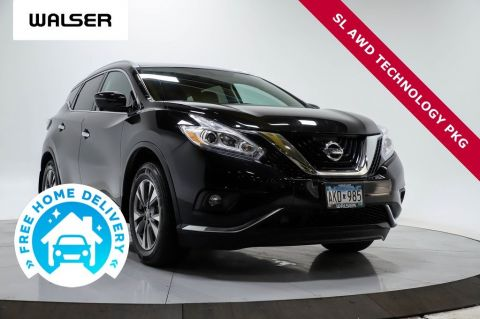 Certified Pre-Owned 2017 Nissan Murano SL AWD TECHNOLOGY PKG