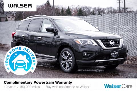 New 2020 Nissan Pathfinder PLATINUM 4X4
