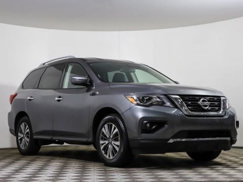 Certified Pre-Owned 2019 Nissan Pathfinder SL 4WD HEATED LEATHER NAV CAMERA BLUETOOTH
