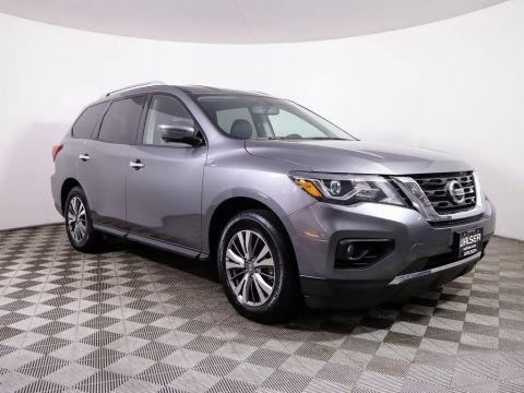 Certified Pre-Owned 2019 Nissan Pathfinder SL 4WD HEATED LEATHER NAV CAMERA BLUETOOTH 3RD ROW