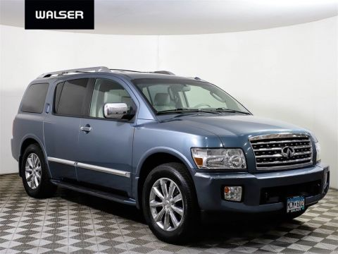Pre-Owned 2008 INFINITI QX56 HTD LTHR ROOF 4X4