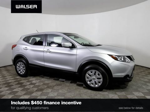 Certified Pre-Owned 2018 Nissan Rogue Sport *CERTIFIED* S AWD CAMERA FORWARD EMERGENCY BRAKING