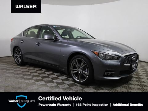 Pre-Owned 2015 INFINITI Q50 PREMIUM AWD BOSE NAV 19 WHEELS HEATED LEATHER LED