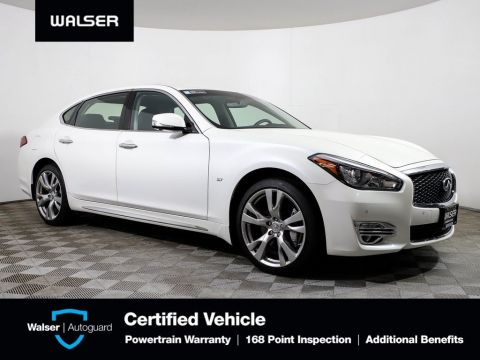Certified Pre-Owned 2018 INFINITI Q70L LUXE AWD PERFORMANCE PKG ESSENTIAL PKG BOSE NAV