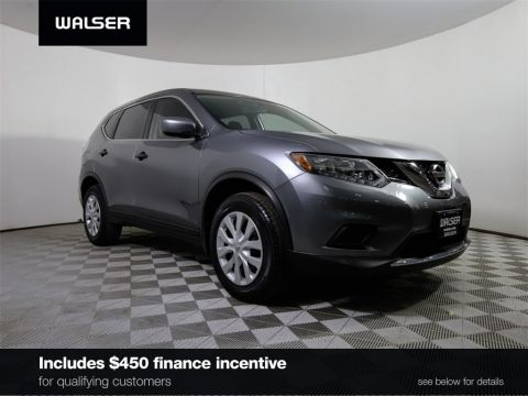 Certified Pre-Owned 2016 Nissan Rogue *CERTIFIED* S AWD BLUETOOTH BACKUP CAMERA LED