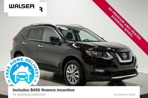 Certified Pre-Owned 2018 Nissan ROGUE SV AWD PREMIUM PKG
